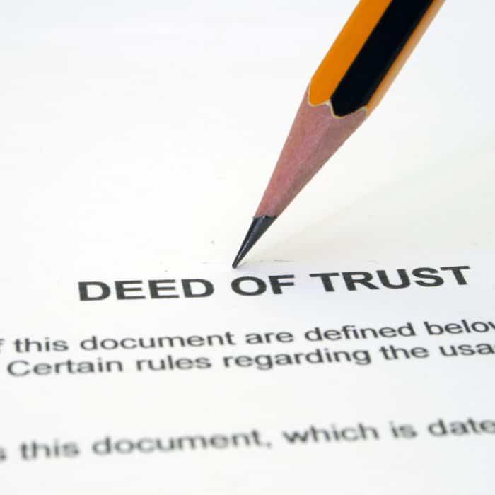 Understanding a Deed of Trust