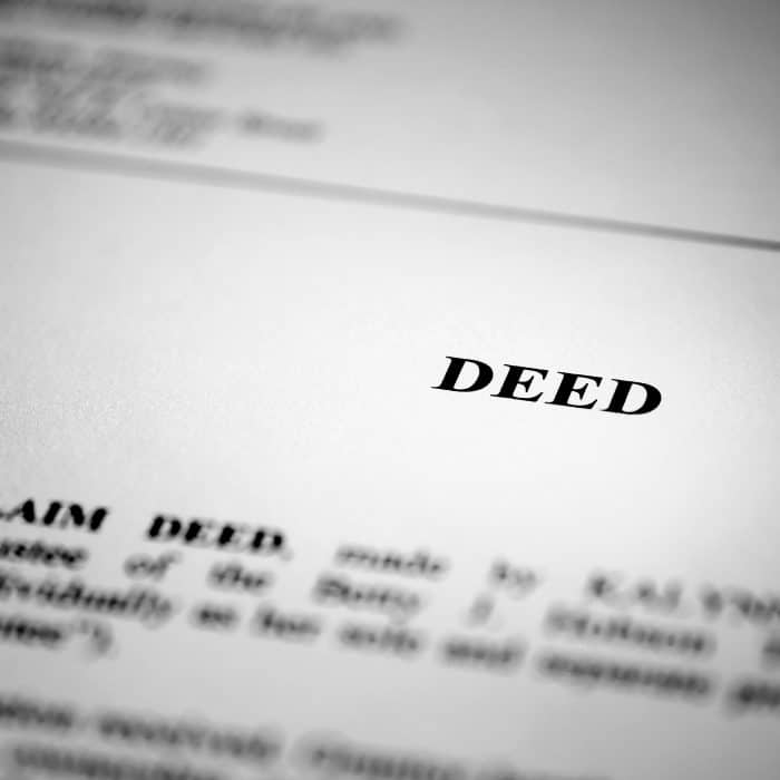Types of Deeds